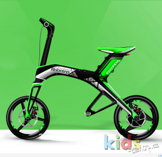 E-Scooter mini skládací - TOYS.BIKE/ROBSTEP